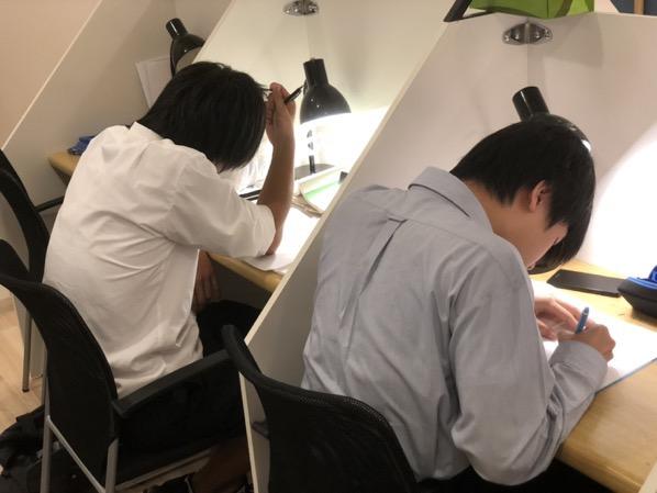 慶早進学塾岐阜校 自習風景2