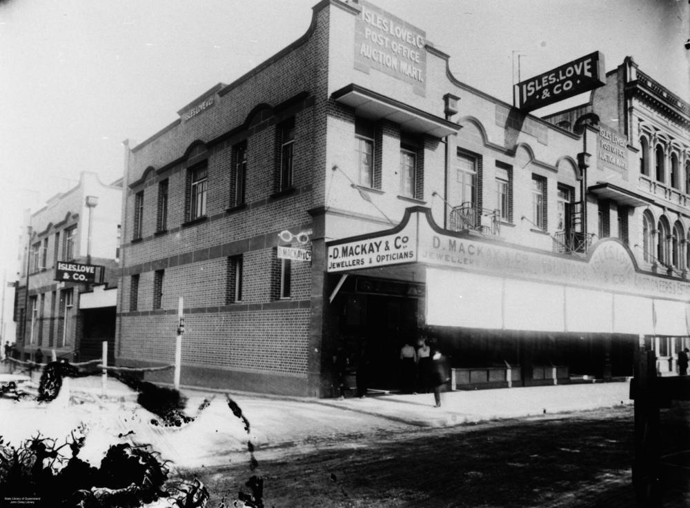 アイルズラブ&Coの建物、アデレード・ストリート、約 1915